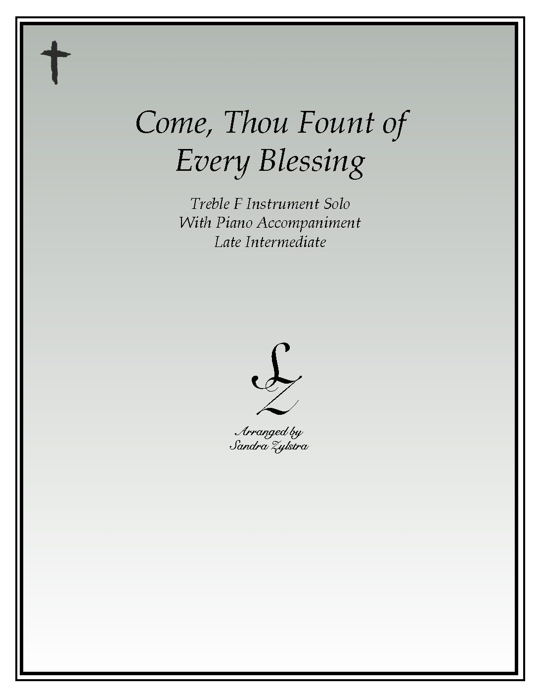 IS 19 Come Thou Fount of Every Blessing 03 Treble F pdf