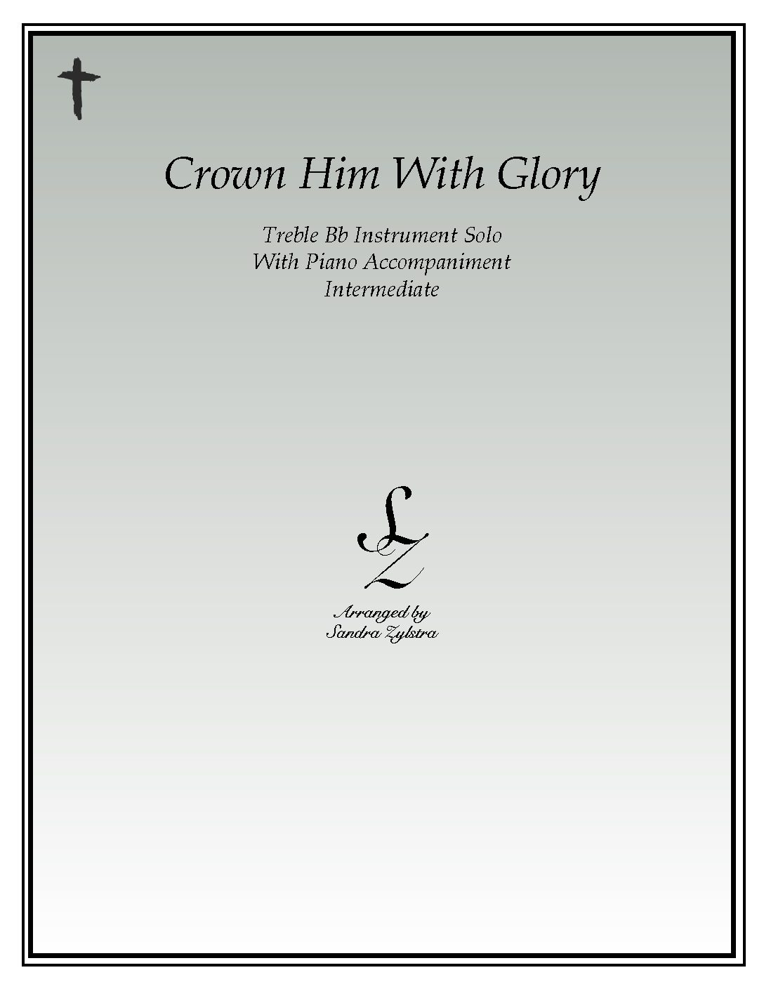 IS 22 Crown Him With Glory 01 Treble Bb pdf