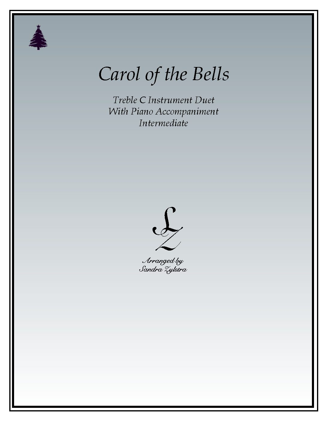 Carol Of The Bells – Instrument Duet & Piano Accompaniment