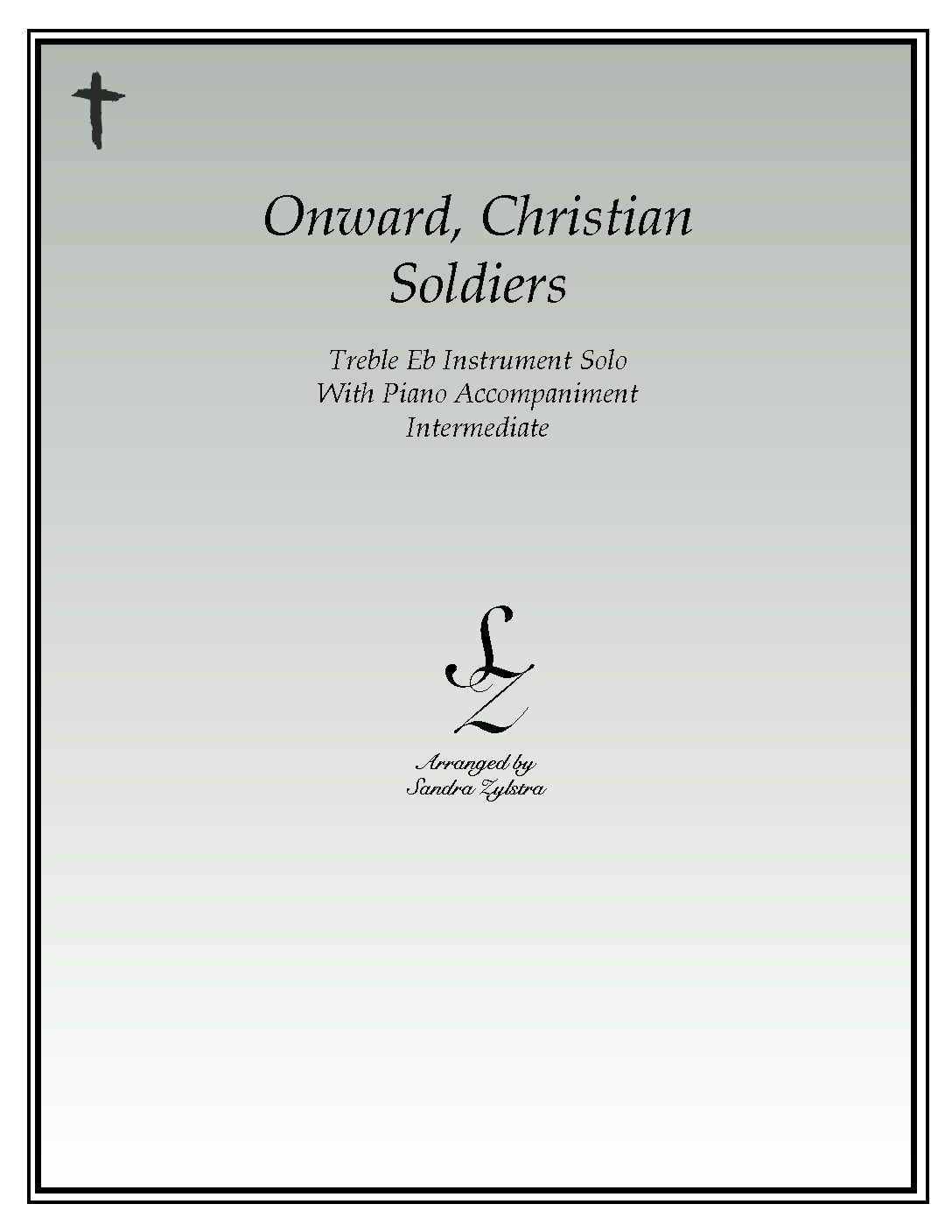 Onward, Christian Soldiers -Treble Eb Instrument Solo