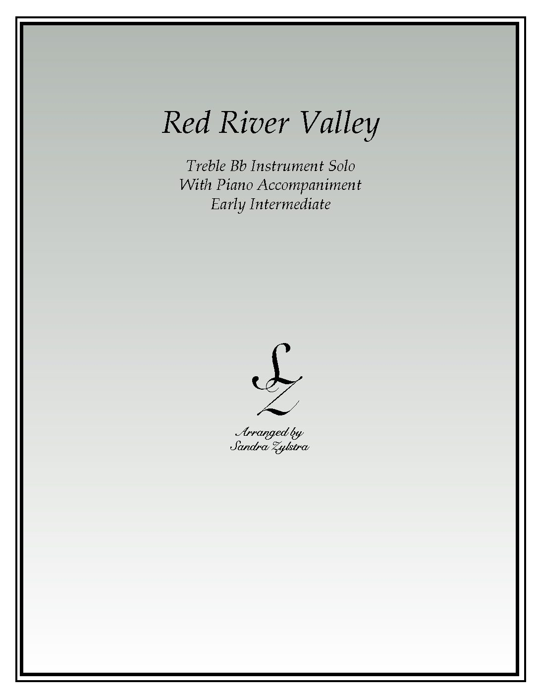 Red River Valley -Treble Bb Instrument Solo