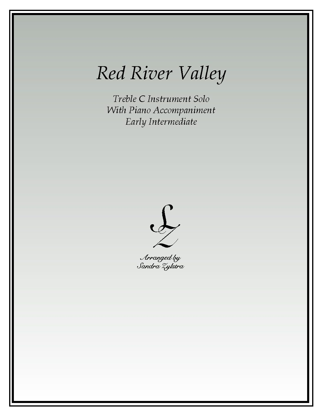 Red River Valley -Treble C Instrument Solo