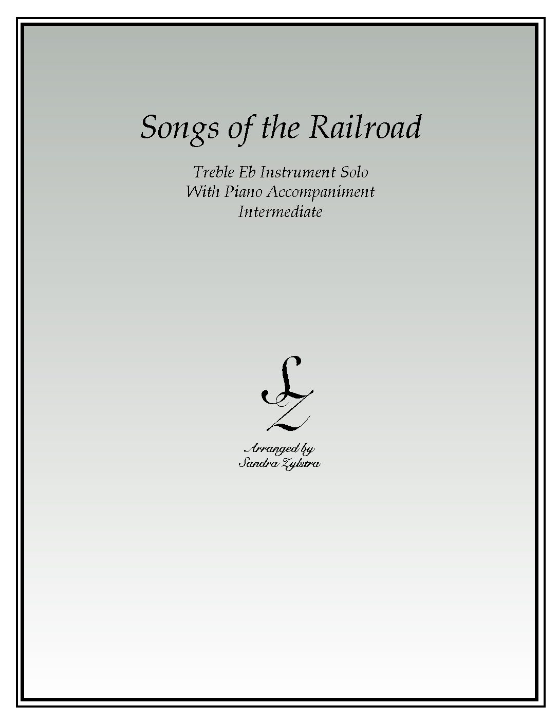 Songs Of The Railroad -Treble Eb Instrument Solo