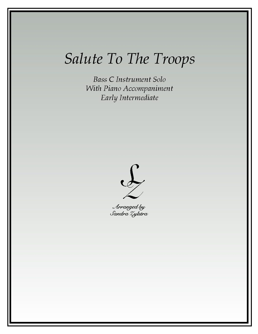 Salute To The Troops -Bass C Instrument Solo