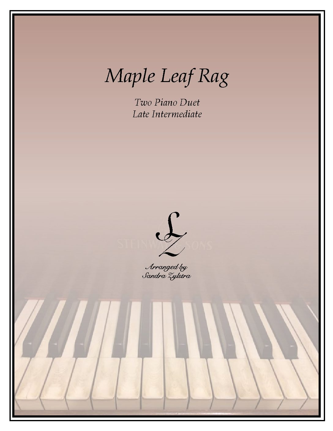 Maple Leaf Rag -Two Piano Duet
