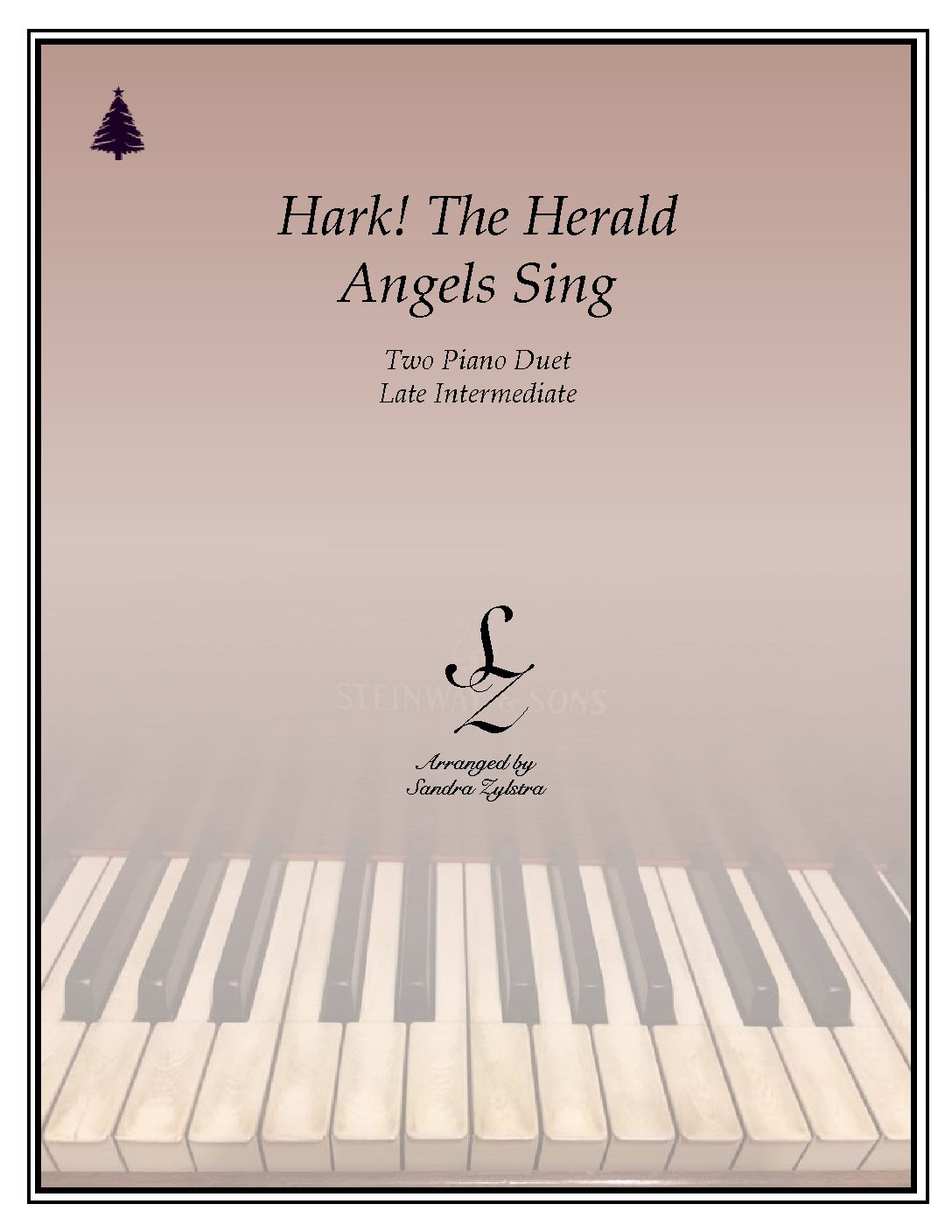 Hark! The Herald Angels Sing -Two Piano Duet