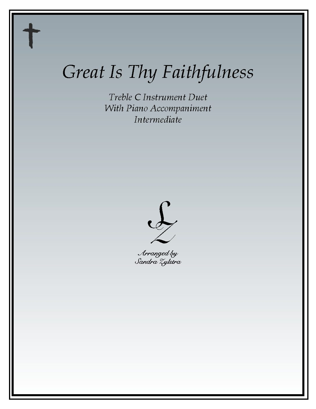 Great Is Thy Faithfulness – Instrument Duet & Piano Accompaniment